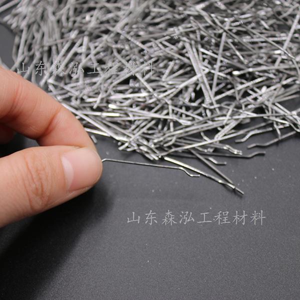 端钩单丝钢纤维