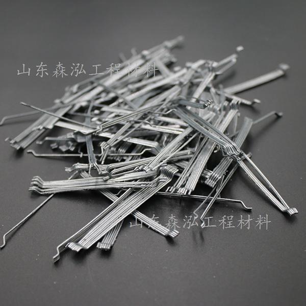 端钩成排钢纤维